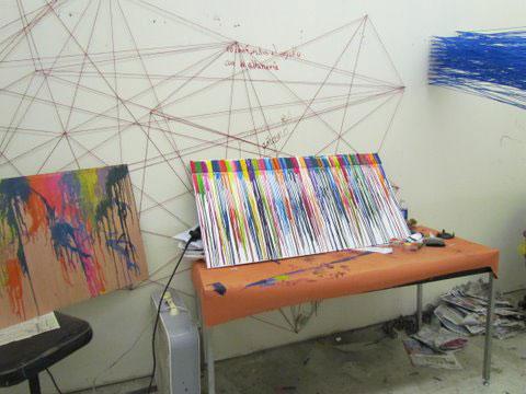 """Daniel Flores """"Crayon Lines"""""""