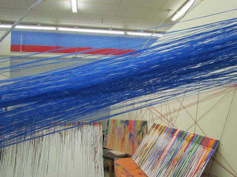 """Daniel Flores """"Blue String"""""""
