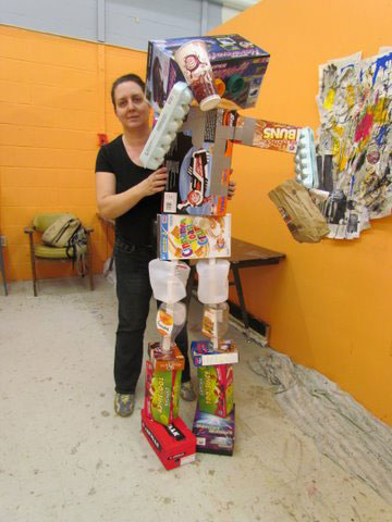 """Erika """"3-D Robot"""""""
