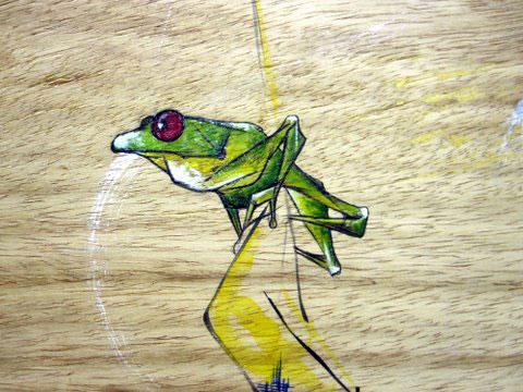 Janett Pena Frog