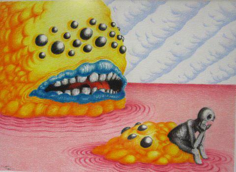 Travis Trapp painting