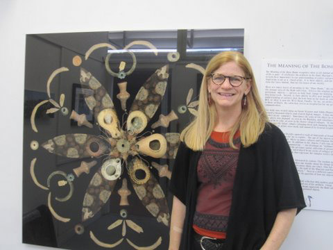 Julie Nelson-Gal with Mandala