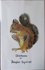 Cickaree on Ceramic Tile