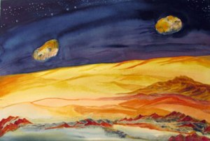Martian Moons by Mary P. Williams