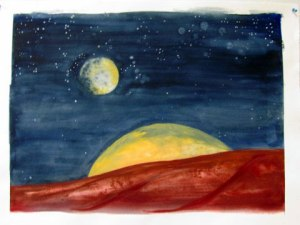 The Magic Moons of Mars by Mary P. Williams