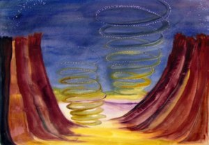 Mars Whirlwinds by Mary P. Williams