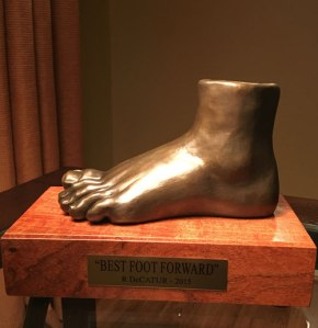 Best Foot Forward by R. Decatur