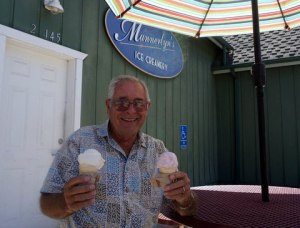 D.L. and end of the road ice cream