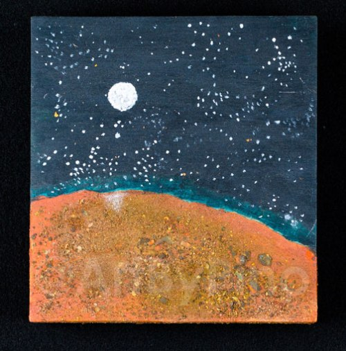 Seeing Earth From Mars, by Mary P Williams. $500