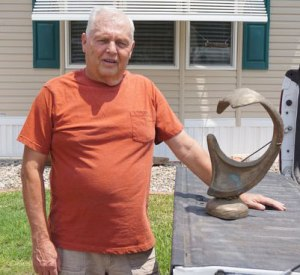 Ray Decantur with Sculpturee