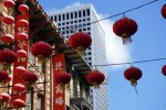 Red Lanterns of San Francisco Chinatown