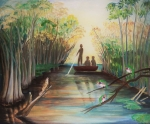 Zapata Swamp by Mary P Williams